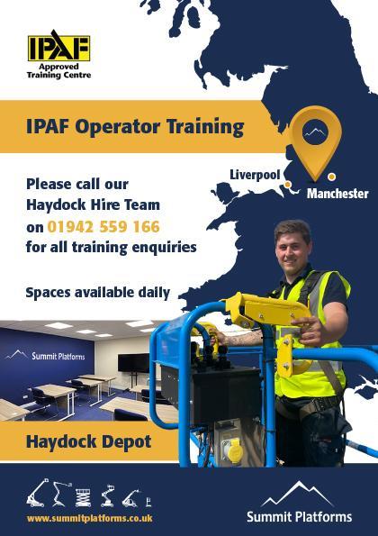 Summit platforms IPAF Training - Haydock Depot