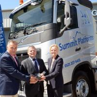 Summit Platforms honoured  by transport chiefs after    celebrating 5th anniversary!